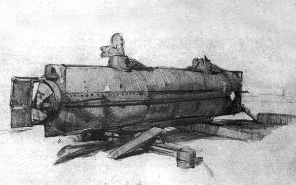 HL Hunley: Design & Testing Of First Successful Submarine