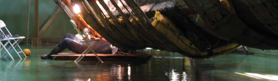 Keel Blocks Offer Key Evidence in Hunley's Disappearance